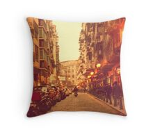 Ride The Sunset Throw Pillow