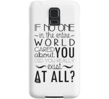 The Infernal Devices Quote Samsung Galaxy Case/Skin