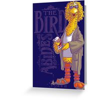 The Big Birdowski Parody Greeting Card