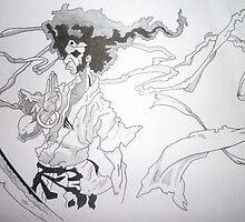 AFRO SAMURAI by patstar