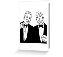 Twinning Greeting Card