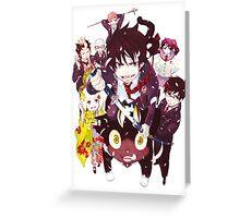 Blue Exorcist [Anime] [Manga] Greeting Card