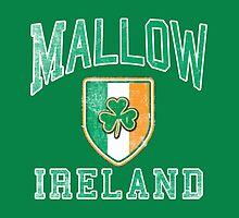 Mallow, Ireland with Shamrock by Greenbaby