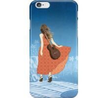 Guitar Girl iPhone Case/Skin