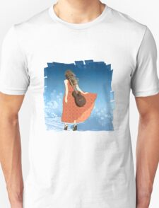 Guitar Girl Unisex T-Shirt
