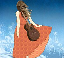 Guitar Girl by Janet Carlson