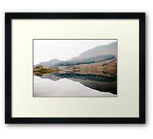 Scottish Inkblot Framed Print