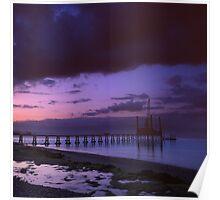 Bembridge Lifeboat pier Poster
