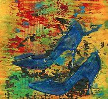 My Blue Shoes by © Angela L Walker