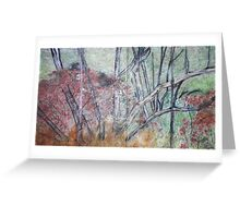 dream Forest on rice paper Greeting Card