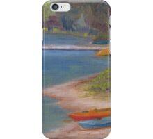 eighth lake canoes iPhone Case/Skin