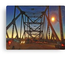 Tappan Zee Bridge Canvas Print