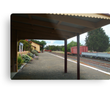 Historic Drysdale Railway Station,Bellarine Peninsula Metal Print