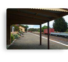 Historic Drysdale Railway Station,Bellarine Peninsula Canvas Print
