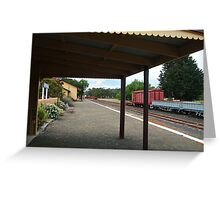 Historic Drysdale Railway Station,Bellarine Peninsula Greeting Card