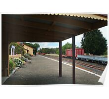 Historic Drysdale Railway Station,Bellarine Peninsula Poster