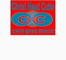 CHC-RED/BLU/SIL Womens Fitted T-Shirt