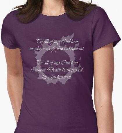 FFXIV - Answers Lyrics Womens Fitted T-Shirt