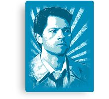Castiel - Portrait Canvas Print