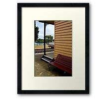 Historic Drysdale Railway Station Framed Print