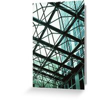 Skylights and Skyscrapers Greeting Card
