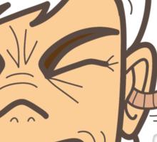 """EARWORM """"Rob"""" Sticker"""