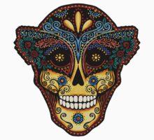 Sugar Skull Design-Day of the Dead Kids Clothes