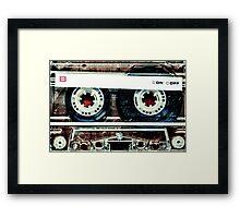 Mix-Tape Framed Print