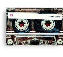 Mix-Tape Canvas Print