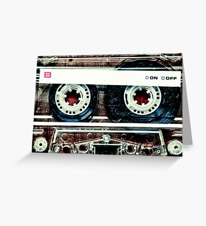 Mix-Tape Greeting Card