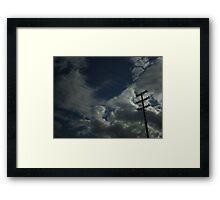 Wires Framed Print