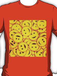 Piles and piles of smiles T-Shirt