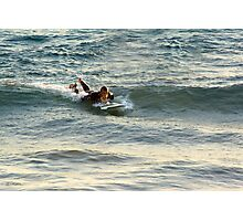 Surfing Indian Ocean Photographic Print