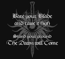 Dragon Age - Bare your Blade by Dorchette