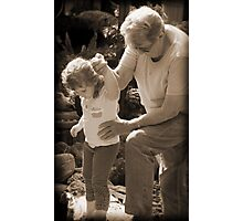 Tread Carefully my Little Precious Child Photographic Print