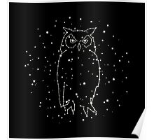 Owl Constellation  Poster