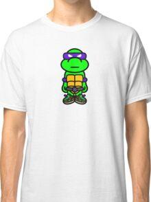 Purple Renaissance Turtle Classic T-Shirt