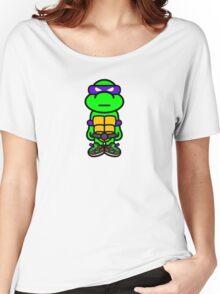 Purple Renaissance Turtle Women's Relaxed Fit T-Shirt