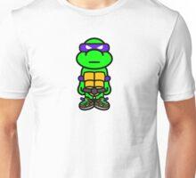 Purple Renaissance Turtle Unisex T-Shirt