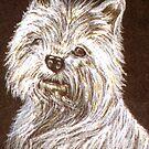 Scottie Dog Card by sharpie