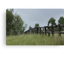 The Fence Canvas Print