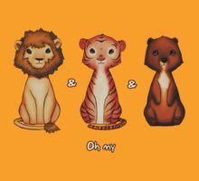 Lions n' Tigers n' Bears by kino18