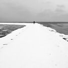 Man & sea by Bluesrose