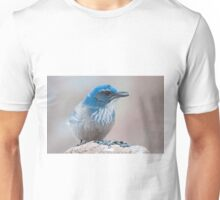 Scrub-Jay with a seed Unisex T-Shirt