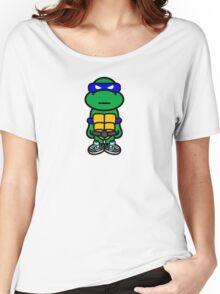 Blue Renaissance Turtle Women's Relaxed Fit T-Shirt
