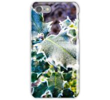 Frosted Holly iPhone Case/Skin