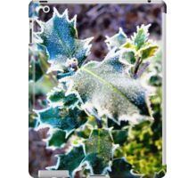 Frosted Holly iPad Case/Skin