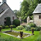 lovely garden in Argences, NW France by BronReid