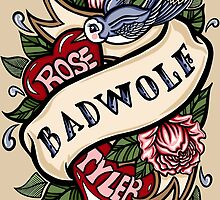 BadWolf Tattoo by Ameda Nowlin