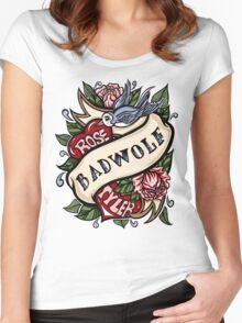 BadWolf Tattoo Women's Fitted Scoop T-Shirt